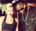Dueto da Miley Cyrus com Wiz Khalifa é retirado do álbum do rapper