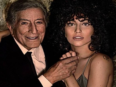 "Tony Bennett & Lady Gaga divulgam tracklist de ""Cheek To Cheek"""