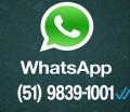 WhatsApp e SMS para maior interatividade!